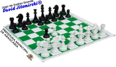 Jogo de Xadrez Grande - David Jitomirski
