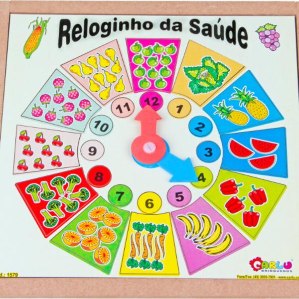8c6f9275e7b9d Reloginho da Saúde - Jogos de Madeira